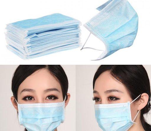 پارچه ماسک یکبار مصرف